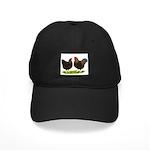 BLR Wyandottes Dark Black Cap