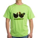 BLR Wyandottes Dark Green T-Shirt