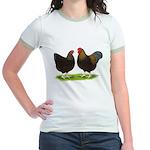 BLR Wyandottes Dark Jr. Ringer T-Shirt