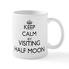 Keep calm by visiting Half Moon Massachusetts Mugs