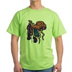 Riding Masons Green T-Shirt