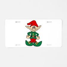 elf Aluminum License Plate