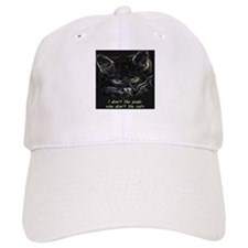 """I don't like people who don't like cats"" Baseball Cap"