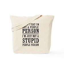 It Isn't that I'm not a people person, I'm just no