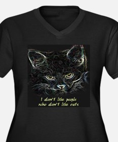 """""""I don't like people who don't like cats"""" Women's"""