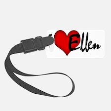 I LOVE ELLEN Luggage Tag