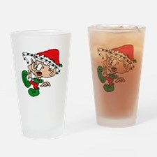 elf seeing stars.png Drinking Glass