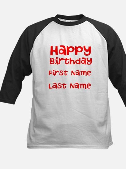 Happy Birthday Baseball Jersey