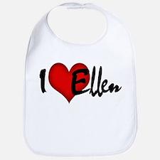I LOVE ELLEN Bib