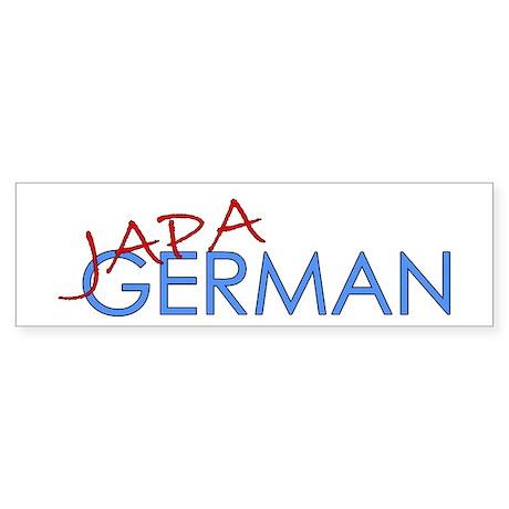 Japagerman Bumper Sticker