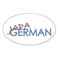 Japagerman Oval Decal