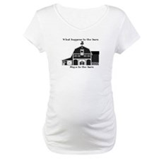 What happens in the Barn Shirt