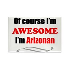 Arizona Is Awesome Rectangle Magnet