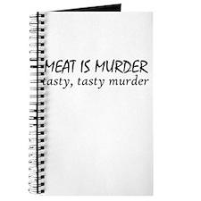 Meat Is Tasty Murder Journal