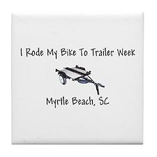 Trailer Week Tile Coaster