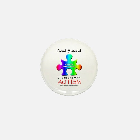 Proud Sister Mini Button