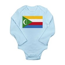 Flag of Comoros Long Sleeve Infant Bodysuit