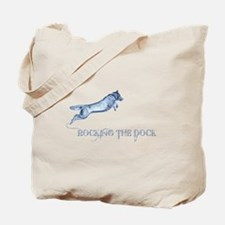 Rocking the dock Tote Bag