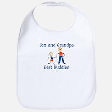 Jon & Grandpa - Best Buddies Bib
