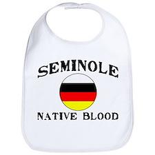 Seminole Native Blood Bib