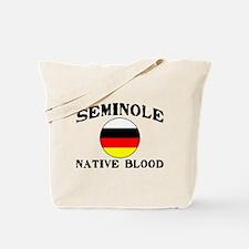 Seminole Native Blood Tote Bag
