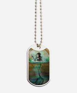 Cute Mermaid fantasy Dog Tags