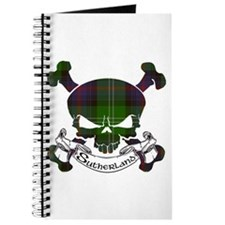 Sutherland Tartan Skull Journal