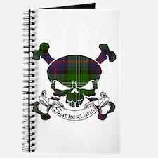 Sutherland Tartan Skull Journal