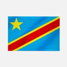 Congolese Flag Rectangle Magnet