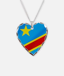 Congolese Flag Necklace