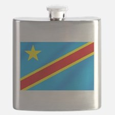 Congolese Flag Flask