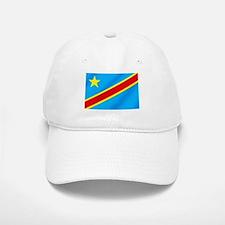 Congolese Flag Baseball Baseball Cap