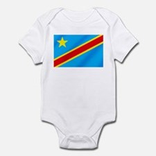 Congolese Flag Infant Bodysuit