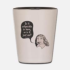 Descartes Solipsism Shot Glass
