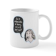 Descartes Solipsism Small Mugs