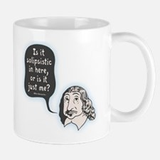 Descartes Solipsism Small Small Mug