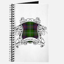 Sutherland Tartan Shield Journal