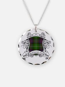Sutherland Tartan Shield Necklace