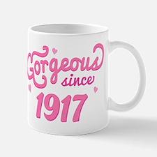 1917 Birth Year Gorgeous Mug