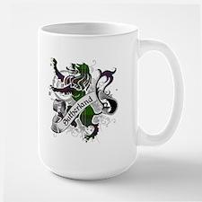 Sutherland Tartan Lion Mug