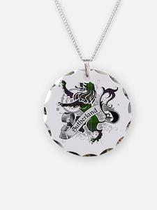 Sutherland Tartan Lion Necklace
