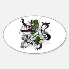 Sutherland Tartan Lion Decal