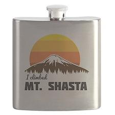 I climbed Mt. Shasta Flask