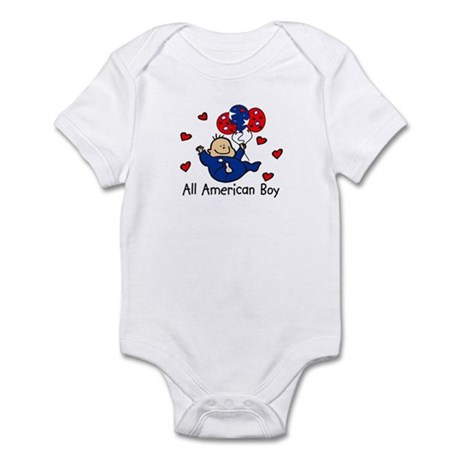 All American Boy Patriotic Baby/Toddler bodysuits