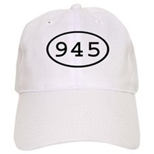 945 Oval Baseball Cap