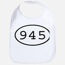945 Oval Bib