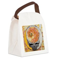 Psychedelic Steal Your Face Canvas Lunch Bag