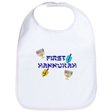 First Hannukah Bib