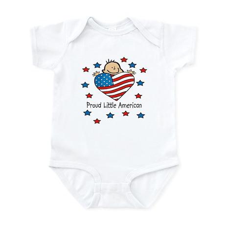 Proud American flag Baby/Toddler bodysuits