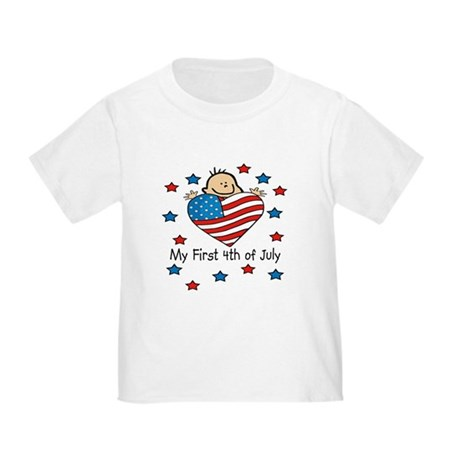 1st 4th of July Toddler T-Shirt